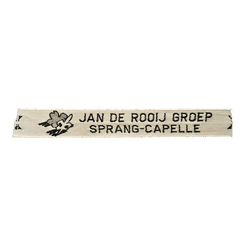 Naambandje Jan de Rooij